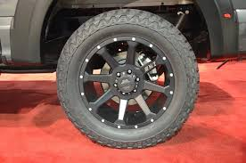 SEMA 2015: Mickey Thompson Partners With Roush For 2016 F-150 Tactik T743 Series Wheel In Machined Face With Mickey Thompson Baja Claw Ttc Tirebuyer Classic Iii Polished Custom Wheels Rims Sema Here Are All Thompsons New Tires Sidebiter Ii Page 5 Lock Matte Black And Heels Magazine Cars 2017 Off Road Expo Alcoa Selling Ford Truck Enthusiasts Mickey Thompson Introduces Sd5 Black Wheel Line Competion Plus Et Street Ss Tire 2754020 Radial Blackwall 3401