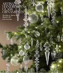 Handblown Glass Ornaments From Restoration Hardware