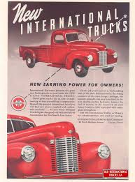 99 Vintage International Harvester Truck Parts 1941 New K1 PickUp Cars Pinterest