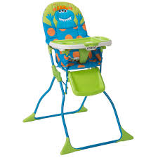 cosco monster syd walker high chair playard value set