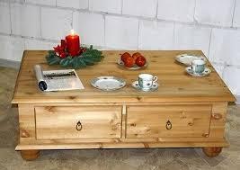 couchtisch truhentisch wohnzimmer tisch sofa holz kiefer