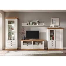 landhaus möbel kombination für wohnzimmer diatara 4 teilig