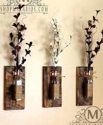Metal Wall Vase Sconce Rustic Sconces