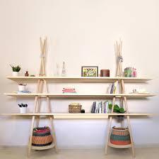 bureau etagere tipi l étagère bureau par assaf esprit design