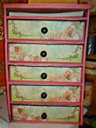 Desk Drawer Organizer Diy by Repurpose Recycle Diy Organizer Made With Cardboard Tutorial Chest