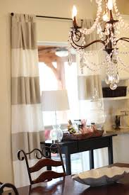 Yellow And White Striped Curtains by Painting Striped Curtains Simply Domestic