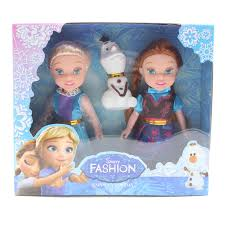 Toy 2pcs Movie Frozen Princess Figures Kids Children Baby Girl