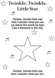 Twinkle Little Star Poem Printable Find This Pin And More On Nursery Rhymes By Nadiebillmark
