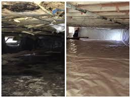 basement drain cost crawl encapsulation contractors ideas
