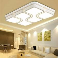 details zu 100w led deckenleuchte dimmbar wohnzimmer flurleuchte badleuchte deckenle