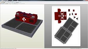 Mass Effect Medical Crate And Floor Element By Rheia2