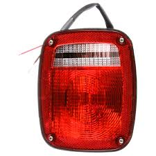 Signal-Stat, Incandescent, Red/Clear Acrylic Lens, Universal, Combo ... Truck Lite Led Headlights Lights 15 Series 3 Diode License Light Rectangular Bracket Mount 80 Par 36 5 In Round Incandescent Spot Black 1 Bulb Trucklite Catalogue 22 Yellow Side Turn 66 Clear Oval Backup Flange 7 Halogen Headlight Glass Lens Alinum 12v Signalstat Redclear Acrylic Lh Combo Box 26 Chrome Atldrl Universal 4 X 6 Snow Plow 21 High Mounted Stop 16 Red 60 Horizontal