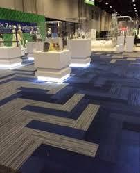 interface walk the plank carpet tile herringbone corridor a
