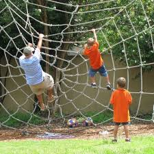 This Backyard Playground Has A Spider Web Rope Net To Climb ... Pikler Triangle Dimeions Wooden Building Blocks Wood Structure 10 Amazing Outdoor Playhouses Every Kid Would Love Climbing 414 Best Childrens Playground Ideas Images On Pinterest Trying To Find An Easy But Cool Tree House Build For Our Three Rope Bridge My Sons Diy Playground Play Diy Plans The Kids Youtube Best 25 Diy Ideas Forts 15 Excellent Backyard Decoration Outside Redecorating Ana White Swing Set Projects Build Your Own Playset