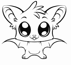 Great Cute Easy Coloring Pages 36 With Additional Line Drawings