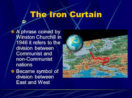 Who Coined The Iron Curtain by The Cold War Ppt Download