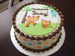 Baby Shower Safari Cakes Party XYZ
