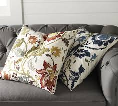 annabelle floral embroidered pillow cover pottery barn