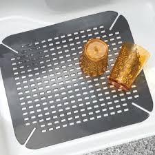 Sink Protector Mat Uk by Expandable Under Sink Storage Shelf Big Kitchen Sinks Kitchen