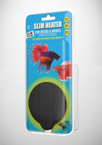 Hydor Bettas and Bowls Slim Heater - 7.5W, 2 to 5 Gallon Capacity