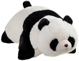 PANDA PILLOW PET on The Hunt