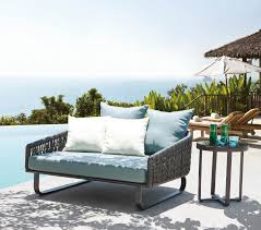 Haiti Modern Outdoor Chaise Lounge Daybed