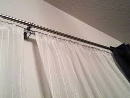 Allen Roth Curtain Rod Instructions by Most Popular Choice Of Double Drapery Rod For Interior Decoration
