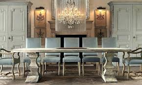 Restoration Hardware Dining Table Room Inspiring
