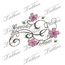 Names New On Flower Tattoo Designs With S Of Luxury Tattoos Kids Kid