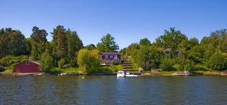 100 Boat Homes File On Tynning South Of Vaxholm Accessible Only By