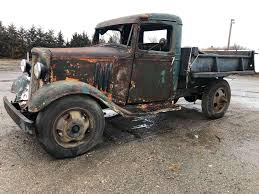 100 Chevy Dump Trucks 1934 Chevy 1 12 Ton Dually Dump Truck All Complete With Extra Wheels