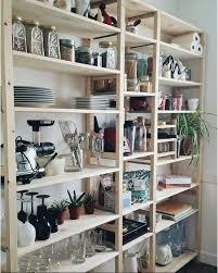 Ikea Pantry Hack Kitchen Pantry Using Ikea Billy Bookcase by Ikea Pantry Shelves Shelves Ideas