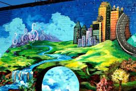 wall mural in deep ellum engagement pics pinterest