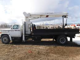 1986 Chevy C70 Crane Truck For Sale