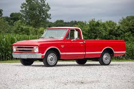 100 Martin Farm Trucks 1967 Chevrolet C10 Fast Lane Classic Cars