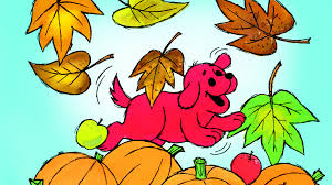 Clifford Halloween Book by Colorful Fall Fun With Clifford Scholastic