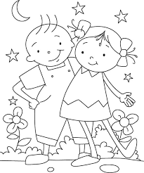 Each Friend Represents A World In Us Coloring Page