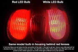 1157 led bulb dual function 9 led forward firing cluster