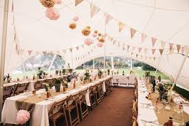 Vintage Trestle Table Hire And Wooden Folding Chairs Along With White Cloth Hessian Runners Are A Great Look Create Real Rustic Vibe