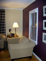 98 Purple Accent Wall In Dining Room Living Bathroom Brown Cabinet