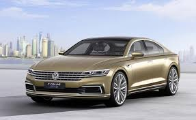 Volkswagen Showcases Coupe Sedan Plug In Hybrid Concept