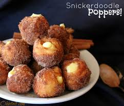 Pumpkin Spice Pudding Snickerdoodles by Snickerdoodle Poppers Filled With Vanilla Pudding Uses Grands