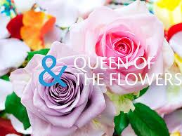 Queen Of The Flowers Meet Rose