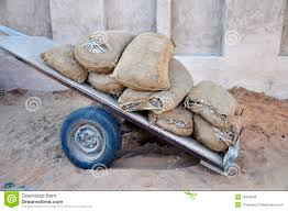 100 Holey Trucks Bags On A Cart Stock Photo Image Of Museum Sacking 35840508