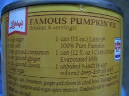 Libbys Pumpkin Bread Recipe by Corrie Food Libby U0027s Famous Pumpkin Pie But Rectangular
