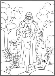 Free Downloads Coloring Jesus The Good Shepherd Pages With 1000 Images About Lost