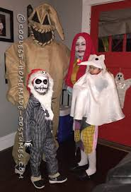 Halloween Town Characters by Family Nightmare Before Christmas Theme Baby Zero Costume
