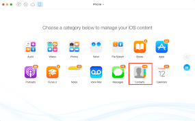 How to Transfer Contacts from iPhone to puter PC Mac