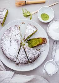 matcha mandel kuchen mit olivenöl klara s