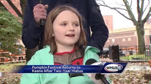 Barnesville Pumpkin Festival Parade 2017 by Pumpkin Festival Returns To Keene After Two Year Hiatus Youtube
